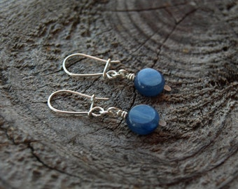 Kyanite//Sterling Silver Earrings