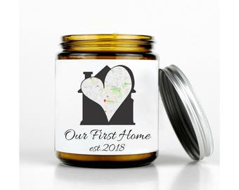 New Homeowner Gift, Our First Home Map, 1st Home Gift Ideas, New Homeowner Gift Idea, Homeowner Gift, New House Gift, Housewarming Gift