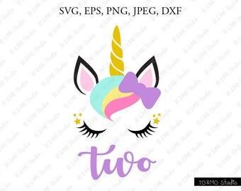 Unicorn SVG, Unicorn head Svg, Unicorn Clip Art, Unicorn Face SVG, Cuite Unicorn SVG, Cricut, Silhouette Cut File Chevrons