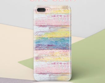 Colorful Wood iPhone 7 Case iPhone 6S Case iPhone 6 Case iPhone 8 Case iPhone 5c iPhone 6 Case iPhone 7 Plus Case Phone Case Wooden CG1329
