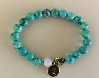 Friendship Courage Empowerment Proetction Healing beaded bracelet gemstone jewelry self-care anxiety relief meditation bracelet
