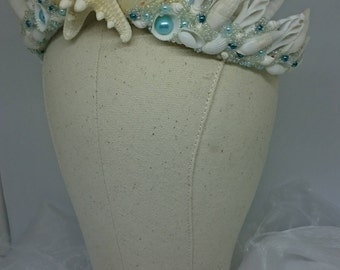 Starfish Tiara Crown RESERVED FOR SOPHRONIA