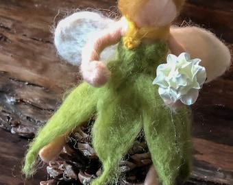 Fairy in the pine cone
