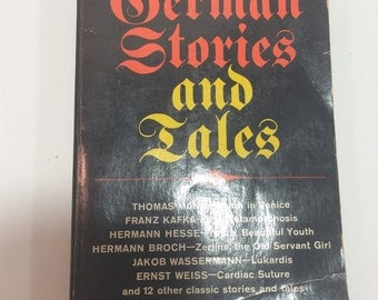 Vintage German Stories and Tales Collection Robert Pick 1966