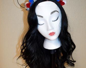 Mickey Ears//Minnie Ears//Mickey Mouse Ears//Minnie Mouse Ears//Hair Accessories//Star Wars//R2D2 Inspired//Disney//Flower Crown