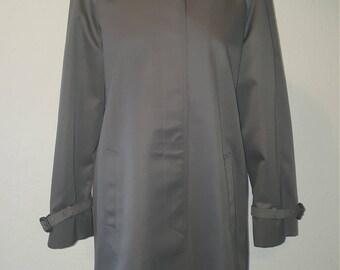 1970s Danimac coat•mod jacket•grey coat•grey jacket•ladies coat•womens coat•ladies jacket•womens jacket•UK 10/12•US 8/10