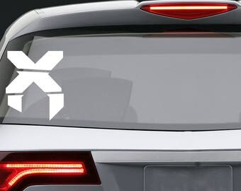 Excision vinyl decal / Car window or bumper Laptop phone iPhone Wall Art Sticker Decals / Living room home decor removable perler kandi pins