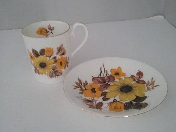 Royal Albert Cup and Saucer, Demitasse Vintage Royal Albert, Royal Albert Fair Lady Cup and Saucer, Royal Albert Floral Demitasse