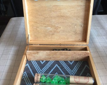 Dice Tower Tray Amp Box W Spiral Staircase