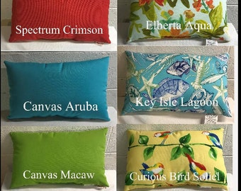 Outdoor Lumbar Pillow Covers