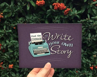 Write Your Own Story - A5 motivational Print