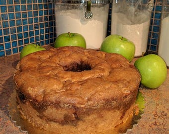 Apple Toffee Bundt Cake