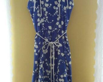 40s 50s Cotton Tulip Dress