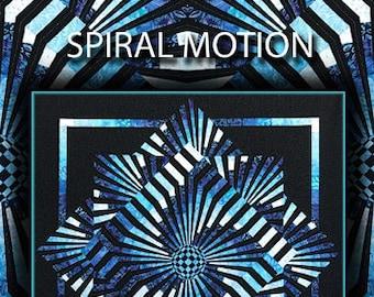 Spiral Motion Quilt Pattern Digital File Download