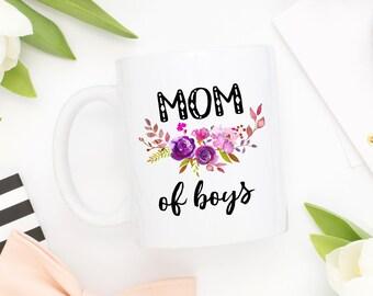 Mom Of Boys Mug, Boy Mom Mug, Boy Mom Gift, Mom Of Boys Gift, Boymom Mug, Momlife Gift,Gift For Mothers Day,Baby Shower Gift,From Son To Mom