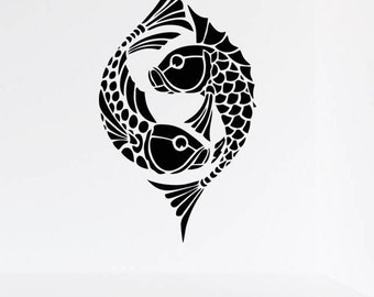 Koi Fish Decal