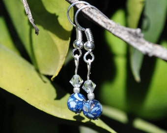 Midnight Blue Earrings
