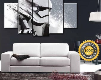 Stormtrooper canvas, Star Wars, Stormtrooper, Stormtrooper art, Star wars poster, Star wars wall art, Star wars canvas, Star wars art