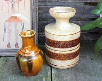 Stoneware and H. Parrot Co. Pottery Set - Vintage Ceramic