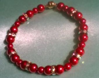 Royal Red Bracelet handcrafted