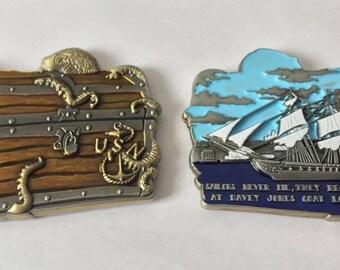 CPO Chief Petty Officer Davy Jones Locker Challenge Coin