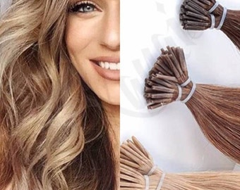 Remy hair extensions etsy sale 40 off i tip human hair extensions remy hair pmusecretfo Choice Image