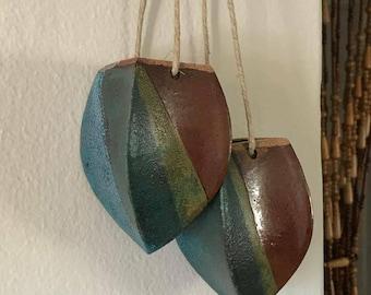 Hanging planter vase