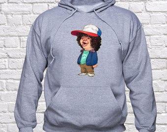 Stranger Things Dustin sweatshirt/ Stranger Things Dustin hoodie/ Unisex/ Dustin Pullover/ Dustin Sweater/ jumper/ hoodie/ hoody/ (STH20)