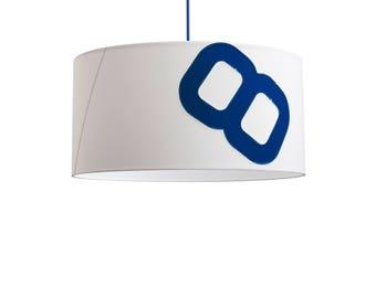 Ceiling lamp home port-Achterschiff60-blue