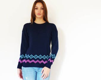 Wool blend sweater-Model Sara