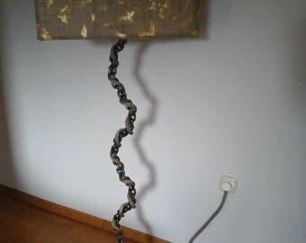 24k CHAIN LAMP
