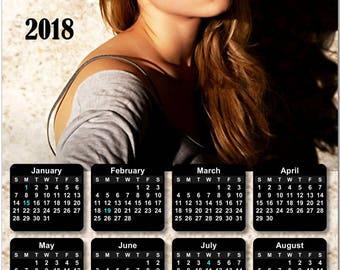Emma Watson 2018 Full Year View Calendar - Magnet, Print, Poster #3842
