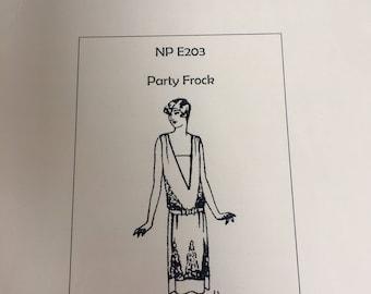 1928 Party Frock - a flapper dress pattern