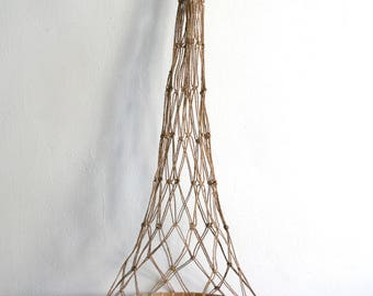 Large Macrame Net Hanging Basket