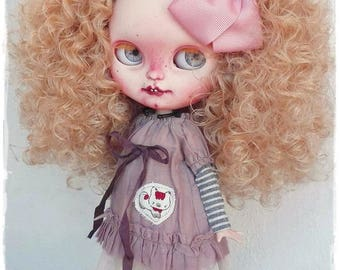 RIVKA Real Girl Icy Doll / Blythe custom doll by Antique Shop Dolls