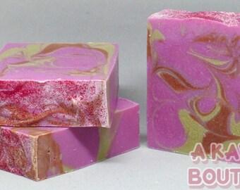 Raspberry Sorbet - Handmade Cold Process Soap