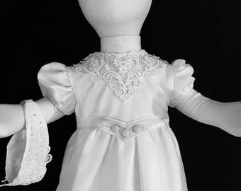 Baby Christening Gown Made Custom From YOUR Wedding Dress!