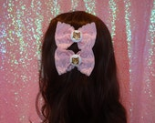 Kawaii Kitten Sweet Lolita Twin Lace Hair Bows
