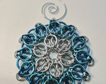 Chainmaille Ornament - Multiple Color Options