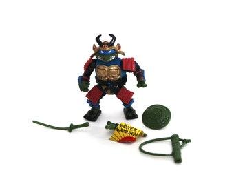 Vintage Teenage Mutant Ninja Turtles TMNT Leo the Sewer Samurai complete 1990