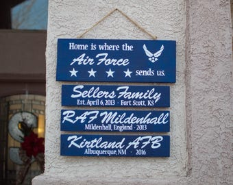 Home Is Where The [Military] Sends Us Sign