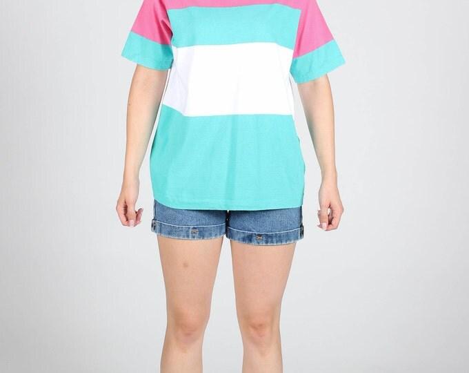Pastel Stripe T Shirt