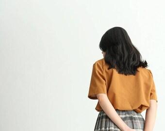 Checkered Skirt {Vintage}