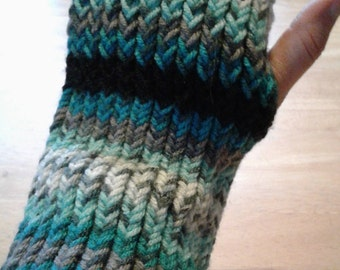 Panthers Fingerless Armwarmers