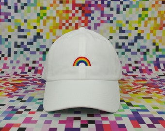 Rainbow Cap (Custom Colors Available)