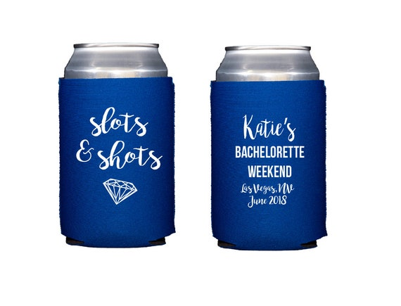 Vegas bachelorette hugger, Vegas bachelorette weekend, Vegas bachelorette weekend hugger, personalized can cooler, bridesmaid gift