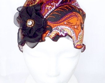 Women chemo headwear, beret,chemo hat,chemo beanie,chemo bonnet,chemo headcover,cancer hat,summer hat,cap,hair loss,headwrap,turban