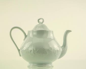 large teapot Dansk porcelean