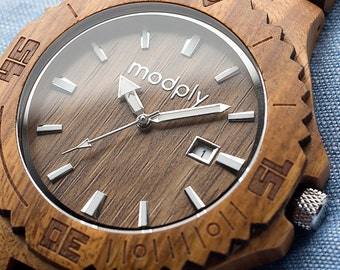 Wooden Watch engraved, Wood Watch, wooden watch for man, Wooden Watches, wooden watch man, watch, groomsmen accessory, Bamboo Watches