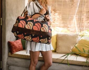 Embroidered Leather Bag, Tribal Bag, Boho Leather Bag, Ethnic Indian Bag, Large Shoulder Bag,Tribal Handbag,Vintage Embroidery